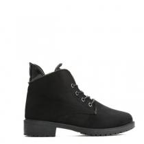 Dámské černé matné kotníkové boty Anette 820
