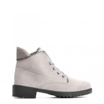Dámské šedé kotníkové boty Anette 820