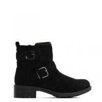 Dámské černé kotníkové boty Nissa 6174