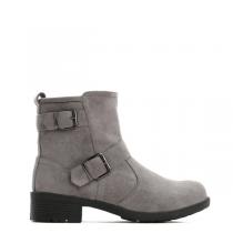 Dámské šedé kotníkové boty Nissa 6174