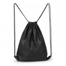 Dámský černý stahovací batoh Baggy 005