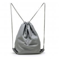 Dámský šedý stahovací batoh Baggy 005