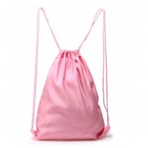 Dámský růžový stahovací batoh Baggy 005