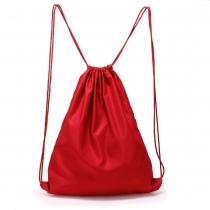 Dámský červený stahovací batoh Baggy 005