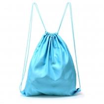 Dámský modrý stahovací batoh Baggy 005