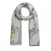Dámský šedý šátek Elodie 033