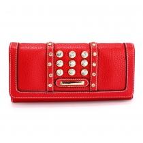 Dámská červená peněženka Ramonna 1041a