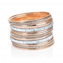 Jedenáct zlatých náramků Brisa 31490