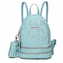 Dámský modrý batoh Florence 1763