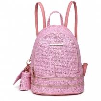 Dámský růžový batoh Florence 1763