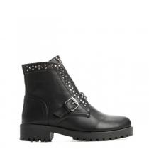 Dámské černé lesklé kotníkové boty Darien 1373