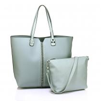 SET: Dámská modrá kabelka Sarah 548