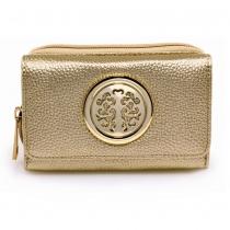 Dámská zlatá peněženka Ruth 1052A