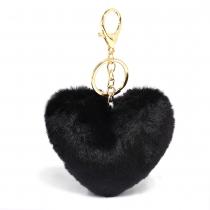 Černý přívěšek Heart 1014