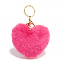 Tmavě růžový přívěšek Heart 1014