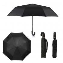 Černý skládací deštník Elegant 210