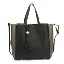 Dámská černošedá kabelka Livvi 550