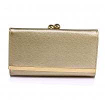 Dámská zlatá peněženka Libby 1050a