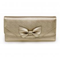Dámská zlatá peněženka Lussy 1056A