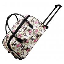 Dámská béžová cestovní taška Paris 0013