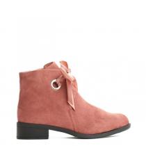 Dámské růžové kotníkové boty Bette 073