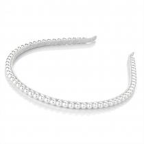 Dámská čelenka Pearl 25706 bílá