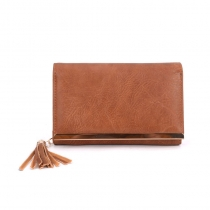 Dámská hnědá peněženka Nikki 1543