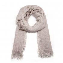 Dámský světle hnědý šátek Justine 209