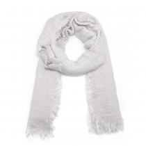 Dámský bílý šátek Justine 209