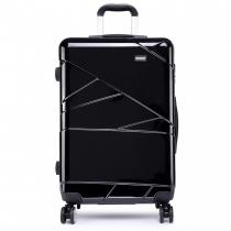 Dámský střední černý kufr Paddy 1772L