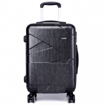 Dámský velký šedý kufr Rotta 1772L