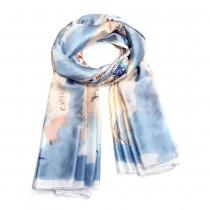 Dámský modrý šátek Calliopa 015