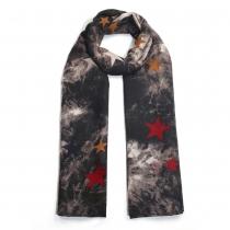 Dámský černý šátek Noisy 025