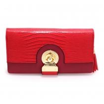 Dámská červená peněženka Chanael 1092b