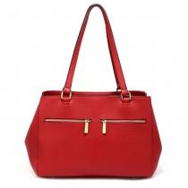 Dámská červená kabelka Lusinda 526