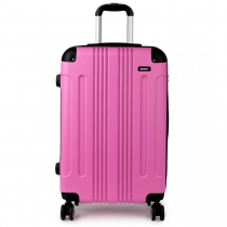 Dámský střední růžový kufr Orion 1777