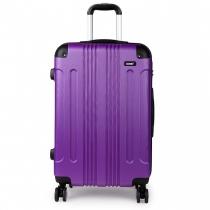 Dámský velký fialový kufr Orion 1777