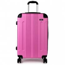Dámský velký růžový kufr Orion 1777