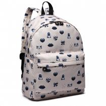 Dámský béžový batoh Jennifer 6701