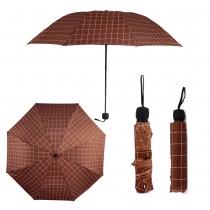 Vínový skládací deštník Damien 0012