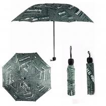 Zelený skládací deštník Print 013