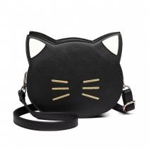 Dámská černá kabelka Cat 6702
