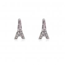 Náušnice ve stříbrné barvě Hedda 0019