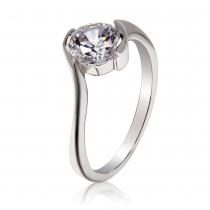Prsten ve stříbrné barvě Reese 040 (17 mm)