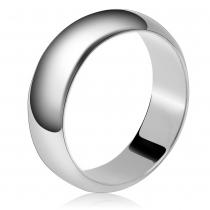 Prsten ve stříbrné barvě Giana 041 (17 mm)