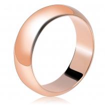Prsten v růžovo zlaté barvě Sarah 042 (18 mm)