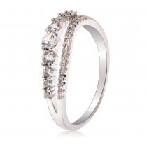 Prsten ve stříbrné barvě Larra 088 (16 mm)