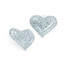 Náušnice ve stříbrné barvě Perfect 31471