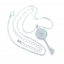 Náhrdelník ve stříbrné barvě Janet 31583