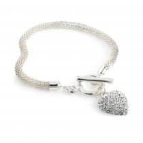 Náramek ve stříbrné barvě Lena 31692